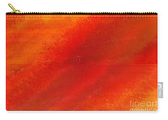 Orange 1 Carry-all Pouch by Thibault Toussaint