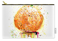 Orange 2 Carry-all Pouch by Arleana Holtzmann