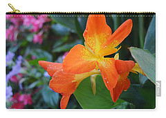 Orange And Yellow Canna Lily 2  Carry-all Pouch