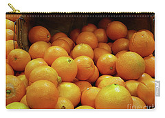 Orange Basket Carry-all Pouch