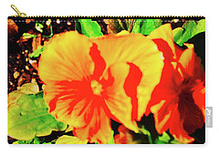 Orange Beauty Carry-all Pouch by Joe Burns