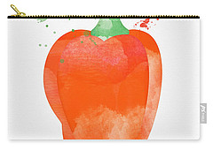 Orange Bell Pepper  Carry-all Pouch