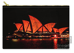 Orange Blast Carry-all Pouch by Diana Mary Sharpton