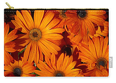 Orange Burst Carry-all Pouch