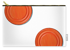 Orange Can Lid Times Two Carry-all Pouch