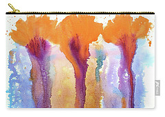 Orange Carnations Carry-all Pouch