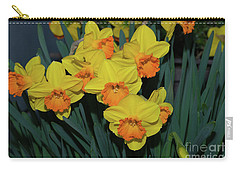 Orange-centered Daffodils Carry-all Pouch