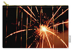 Orange Chetola Fireworks Carry-all Pouch