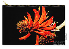Carry-all Pouch featuring the photograph Orange Clover II by Stephen Mitchell