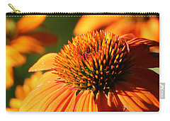 Orange Coneflower At First Light Carry-all Pouch