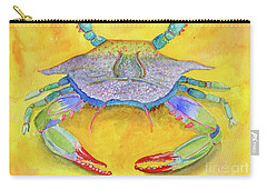 Orange Crab Carry-all Pouch