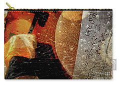 Carry-all Pouch featuring the photograph Orange Crush by Kathie Chicoine