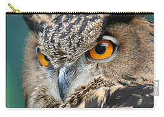 Carry-all Pouch featuring the photograph Orange Crush by Laddie Halupa