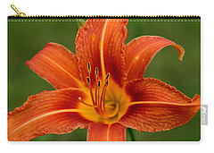 Orange Day Lily No.2 Carry-all Pouch