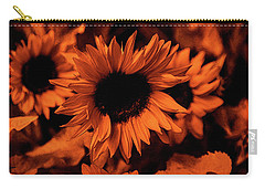 Orange  Carry-all Pouch by Dennis Baswell