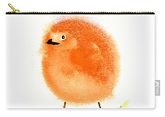 Orange Fluff Carry-all Pouch