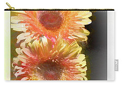 Orange Gebera Daisies Carry-all Pouch