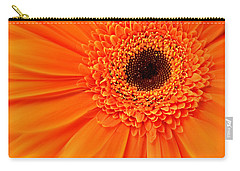 Orange Gerbera Daisy Carry-all Pouch