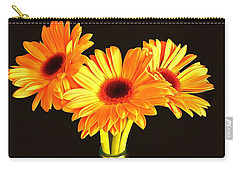 Orange Gerbera's Carry-all Pouch