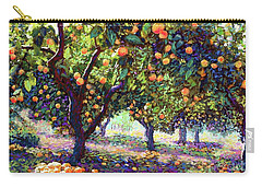 Orange Grove Of Citrus Fruit Trees Carry-all Pouch