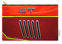 Carry-all Pouch featuring the photograph Orange Gt by Melinda Ledsome