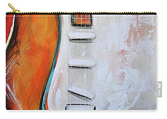 Orange Guitar Carry-all Pouch