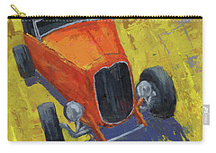 Orange Hot Rod Roadster Carry-all Pouch