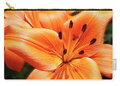 Orange Lily Joy Carry-all Pouch