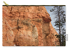 Orange Pillar Carry-all Pouch by Greg Nyquist