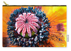 Carry-all Pouch featuring the photograph Orange Poppy by Stephanie Moore