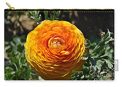 Orange Ranunculus Carry-all Pouch