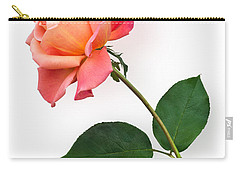 Orange Rose Specimen Carry-all Pouch by Jane McIlroy
