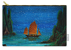 Orange Sail Carry-all Pouch
