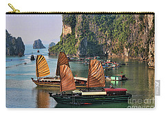 Orange Sails Asian Cruise Vietnam  Carry-all Pouch