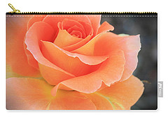 Carry-all Pouch featuring the photograph Orange Sherbert by Marna Edwards Flavell