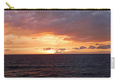 Orange Sky Carry-all Pouch