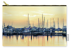 Carry-all Pouch featuring the photograph Orange Sorbet by Maddalena McDonald