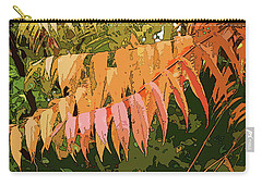 Orange Sumac Carry-all Pouch by Betsy Zimmerli