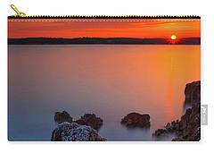 Orange Sunrise Carry-all Pouch