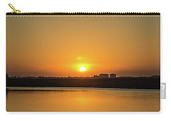 Orange Sunrise Carry-all Pouch
