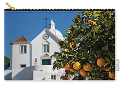 Orange Tree And Church - Castro Marim, Portugal Carry-all Pouch