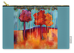 Orange Trees Carry-all Pouch by Elizabeth Fontaine-Barr