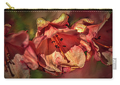 Carry-all Pouch featuring the photograph Orange Trio #h5 by Leif Sohlman