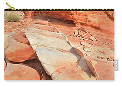 Orange Valley In Valley Of Fire Carry-all Pouch