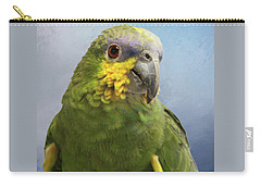 Orange Wing Amazon Parrot Carry-all Pouch