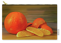 Oranges 01 Carry-all Pouch by Wally Hampton