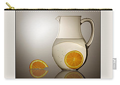 Oranges And Water Pitcher Carry-all Pouch