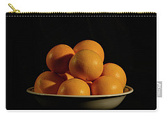 Carry-all Pouch featuring the photograph Oranges by Angie Tirado