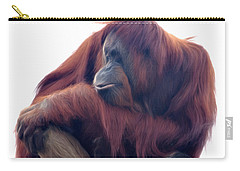 Orangutan - Color Version Carry-all Pouch