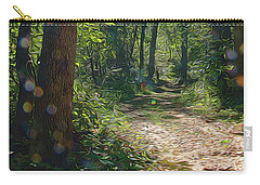 Orbs In The Woods Carry-all Pouch